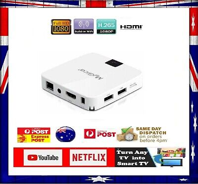 AU99 • Buy Android Smart TV Box Quad Netflix Youtube Media Streaming Express Shipping