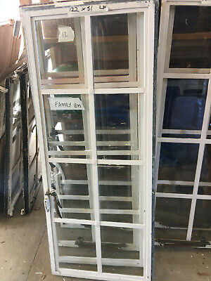 Original Crittall Windows - 122 H X 51W  Left Opening  (5 Available At £80 Each) • 80£