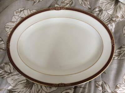 NEW ROYAL DOULTON  TENNYSON  LARGE OVAL DISH (PLATE) 41 X 31.5cm (GRADE 2) • 34.99£