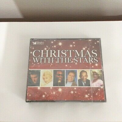 New & Sealed Christmas With The Stars Readers Digest 4 X Cd Boxset • 8.99£