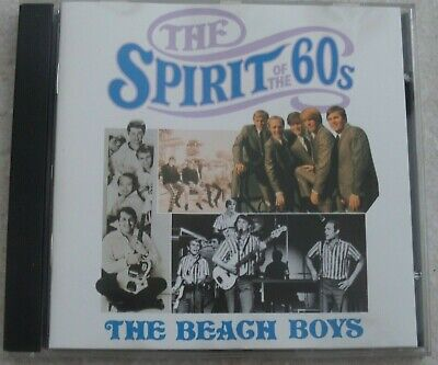 The Beach Boys 'The Spirit Of The 60s' CD Time Life Music • 4.99£