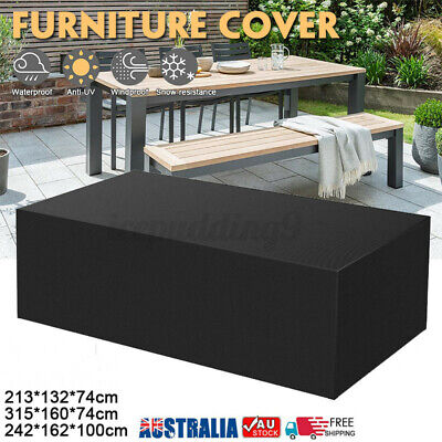AU25.99 • Buy Waterproof Garden Furniture Cover Outdoor Patio Chair Table Bench Rain Shelter