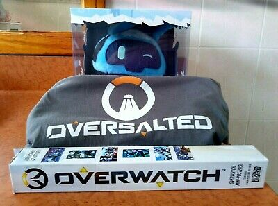 AU14 • Buy Overwatch Merch Bundle - Snowball Plush, T-Shirt, Posters - Used