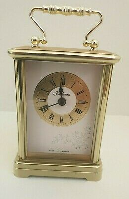 Vintage Mantel Carriage Clock Metamec Quartz • 11.49£