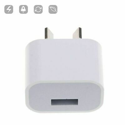 AU6.99 • Buy USB Wall Charger Power Adapter For Iphone 4 5 6 7Plus 8 X AU Plug