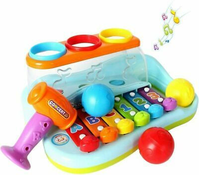GoStock Music Toys 1 2 3 Year Old Baby Enlighten Xylophone Musical...  • 21.79£