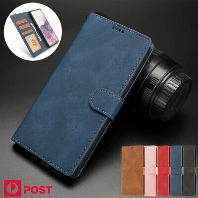 AU13.99 • Buy For Samsung S20 FE Note20 Ultra S10 S9 S8 Plus Case Leather Wallet Card Cover