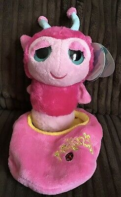 """Keel Toys Podlings """"Sweet Pea"""" Pink Butterfly In Pod Soft Plush Toy 6"""" Tags • 4.99£"""