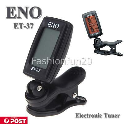 AU9.95 • Buy Chromatic Guitar Tuner For Violin Ukulele Bass LCD Electronic Digital Clip On AU