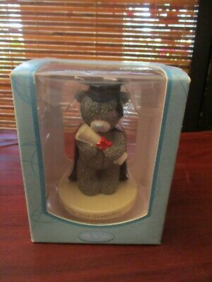 Me To You On Your Graduation Tatty Teddy Grey Bear Ornament In Box • 6.99£