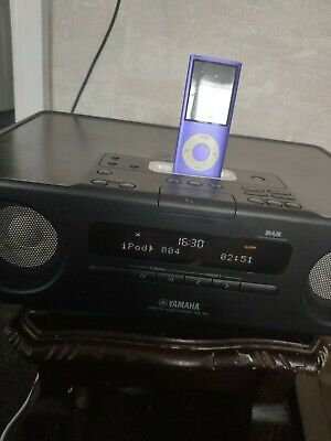 Yamaha Stereo Tsx120 Desktop Stereo Dab/iPod And Auxiliary With Remote Used  • 75.70£