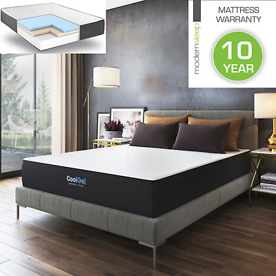$ CDN289.73 • Buy Best Memory Foam Mattress With Cooling Gel Infused 10 Inch Queen Twin King Size