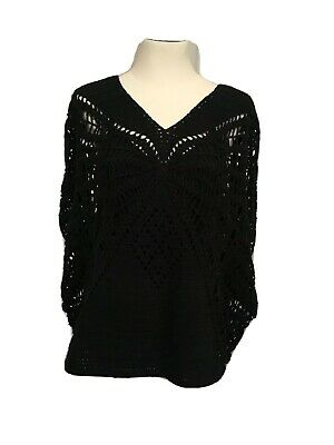 AU30 • Buy ALICE MCCALL New & Tagged EVERYTHING Black Lace Crocheted Size 8 Cami Under