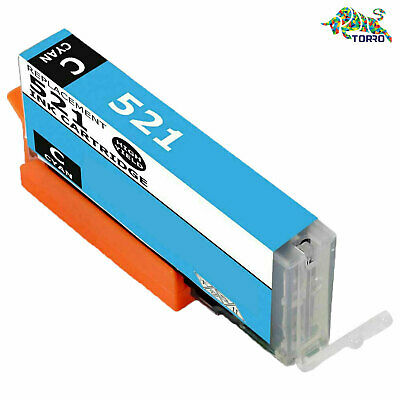 £5.47 • Buy New Compatible Ink Cartridges For CANON CLI-521 IP4600 (1 Cyan)