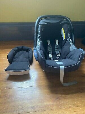 Maxi Cosi Cabriofix (0-13kg) + Infant Insert + Replacement Seat And Rain Covers • 20£
