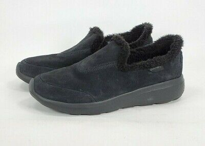 Skechers Goga Mat Gen 5 Soft Furry Lined Slippers Womens Size 6 14634 Black • 18.08£