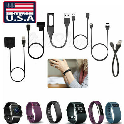 $ CDN6.05 • Buy For Fitbit Alta Blaze Charge HR Surge Force Flex 2 Versa USB Charger Cable  S