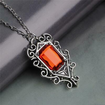 Ladies Girls Mortal Instruments ShadowHunters Isabelle Lightwood Necklace RED  • 10.82£