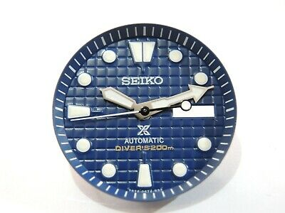$ CDN60.15 • Buy New Replacement Seiko Prospex Blue Waffle Dial Set Will Fit Skx007-009 Diver's