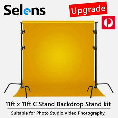 AU359.50 • Buy Selens Backdrop C Stand Background Support System For Video Studio Photography