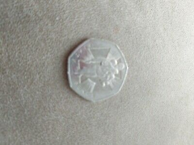 Fifty Pence 50p Commemorative World War 2 Ll Coin 2006 Wounded Soldier • 2£