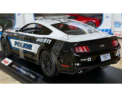 $39.95 • Buy 2015 Ford Mustang GT Maisto Police 1/18  Diecast Special Edition Model Car NEW