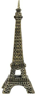 27cm Tall Eiffel Tower Monument Resin Ornate Gold Ornament Mantelpiece Display • 12.99£