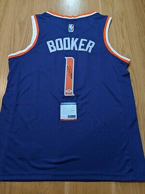 AU1199 • Buy DEVIN BOOKER - Phoenix Suns Signed Jersey With COA