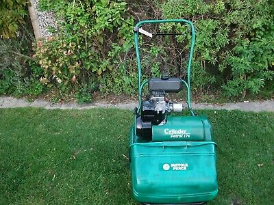 Qualcast 17s Cylinder Cassette Type Lawnmower Sharpened & Serviced • 285£