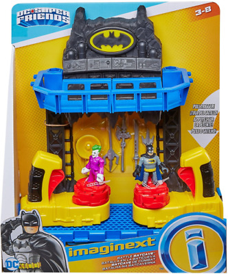 Imaginext FKW12 Battle Bat Cave With Batman And Joker Figures And 4 Additional 3 • 39.99£
