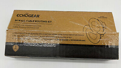 Echogear In-Wall Cable Routing Management Kit Model EGAV-CMIWG1 New In Box • 16.45£