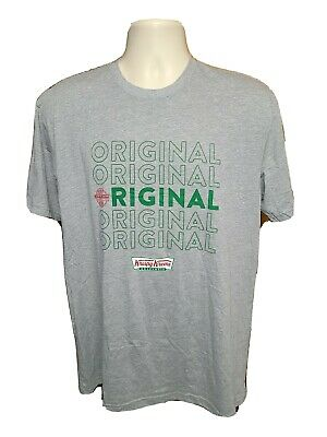 $18 • Buy Original Krispy Kreme Doughnuts Adult Large Gray TShirt