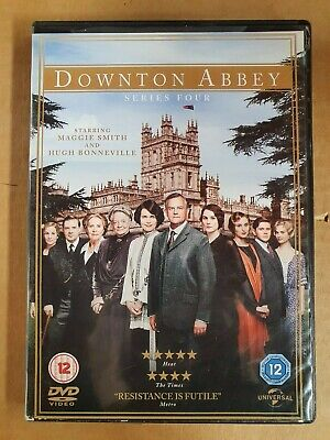 Downtown Abbey - Series 4 - Region 2, 4 & 5 - DVD Like New • 10.88£
