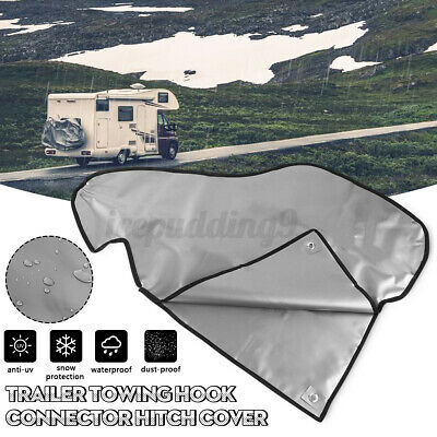 AU16.72 • Buy 💦 Towing Hitch Coupling Lock Tow Ball Cover Caravan Trailer Dust Rain Protect
