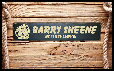 Barry Sheene Vintage Style Sign 500cc Suzuki Classic Bike Motorcycle Races Biker • 12.50£