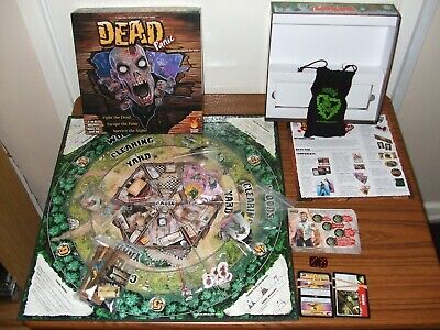 Dead Panic Board Game Fireside Games * COMPLETE * Zombies Halloween • 19.99£