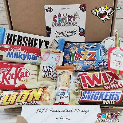 MilkyBar Buttons White Chocolate Gift Box Hamper Personalised Treat  • 6.99£