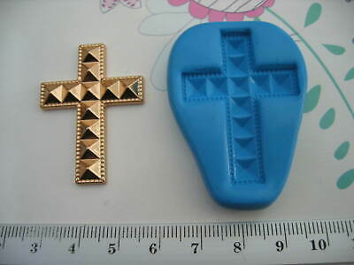 £4.50 • Buy Pointed Cross, Baptism, Christening, Easter Silicone Mould  Cake Toppers