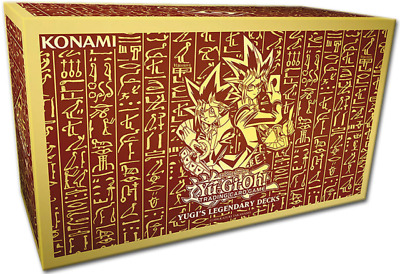 YuGiOh! Yugi's Legendary Decks - NEW - Inc. Exodia & Egyptian God Cards SEALED 2 • 69.95£