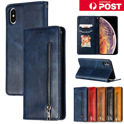 AU14.99 • Buy For IPhone 7 8 Plus X Xs XR 11 Pro Max Case Leather Wallet Magnetic Card Cover
