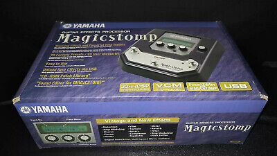 AU359 • Buy Yamaha MagicStomp Guitar Effects Pedal Loaded With 'The Shadows Echos'