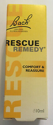 BACH RESCUE REMEDY COMFORT & REASSURE 10ML DROPS - Long Expiry Date • 4.99£