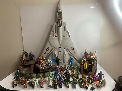 $ CDN879.99 • Buy Huge GI Joe Lot Vintage 80s 90s Hasbro Weapons Accessories Figures Vehicles