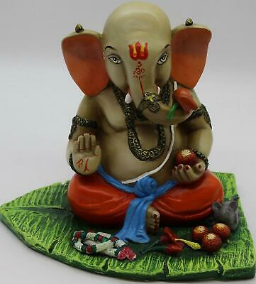 Ganesh Elephant God Ganesha Statue Idol For Home Decor • 8£