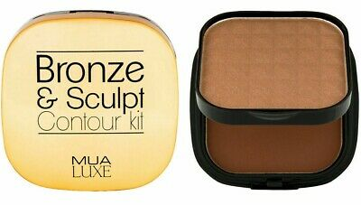 MUA Luxe Bronze & Sculpt Contour Kit Duo Powder Compact Choose Shade Sealed • 5.99£