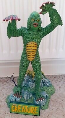 The Creature From The Black Lagoon Large Resin Model AURORA Box Art Tribute  • 199.99£