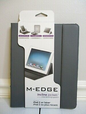 $9.99 • Buy M-Edge Incline Gray Jacket For IPad 2 Or Later (PD3-IN1-MF-DGY)