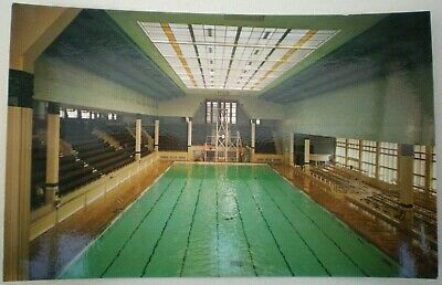 Vintage Real Photo Colour Postcard Derby Baths - North Shore - Blackpool  • 2.79£