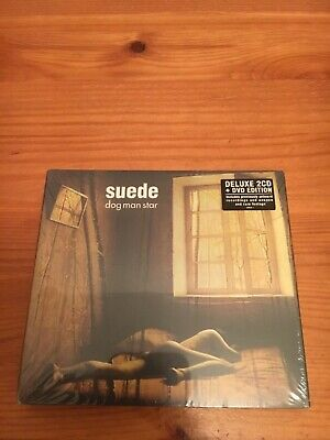 Suede / Dog Man Star / Deluxe 2xCD + 1x DVD Edition / New Sealed • 14.98£