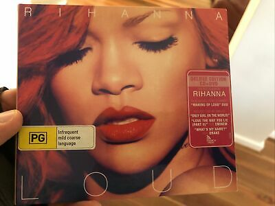 AU15 • Buy Loud [Deluxe Edition] By Rihanna (CD, Nov-2010, 2 Discs, Def Jam (USA))